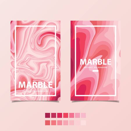 Pink marble template , abstract background vector illustration
