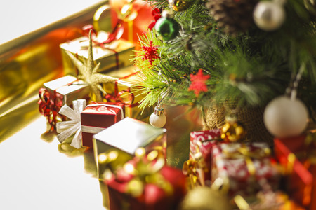 under the tree: Under the Christmas Tree