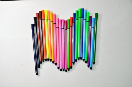 tortuous: colour pens