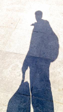 shadow: walking shadow