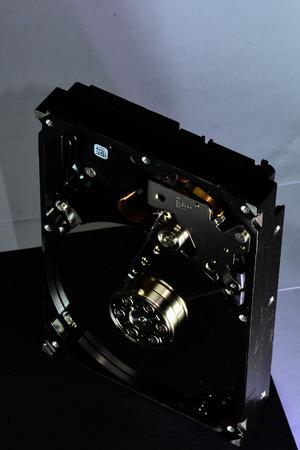 dismantling: A mechanical hard disk dismantling Editorial