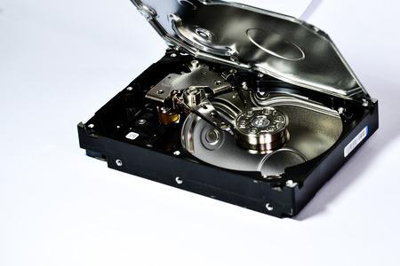 hard disk: A mechanical hard disk dismantling Editorial