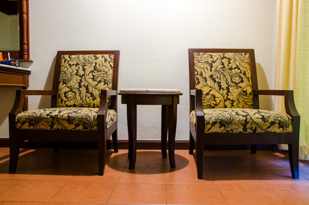 extravagant: A pair of antique chairs