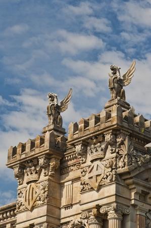Gryffins at Port of Barcelona Imagens