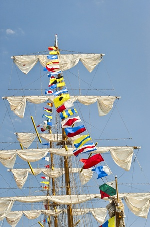 tall ship: Tall Ship Stock Photo