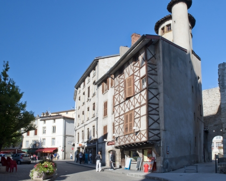 honored: History is honored in Old Vienne France