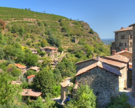 rhone: Malevall Sits High above the Rhone River