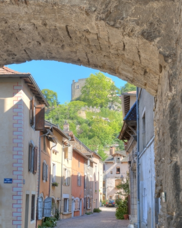 Saint Laurent Hill from under the city gate