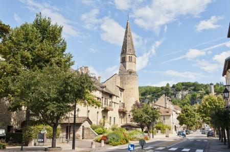 Convent of Augustins in Cremieu France  Banco de Imagens