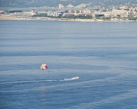 Parasailing Adventure At Nice photo