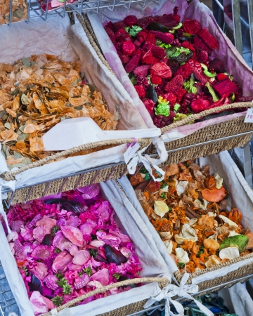 fragrant botanicals at a small business in Grasse France