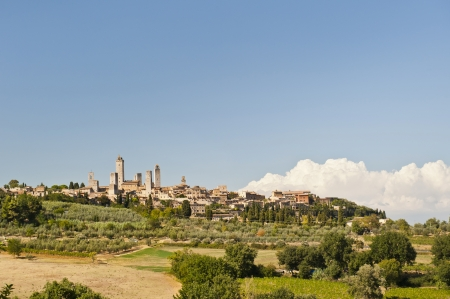 The Medieval Village of San Gimignanoin Tuscany near Florence Italy