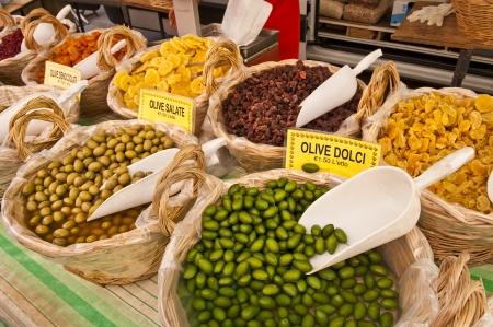 Obst-Gemüse-Stand in Castiglione del Lago