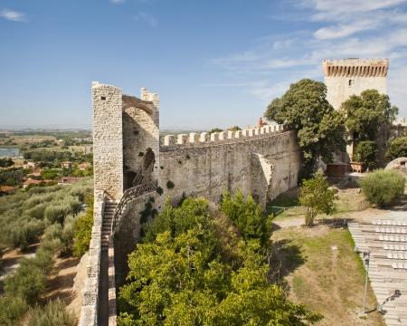 Fortress at Castiglione del Lago Stock Photo - 14026897