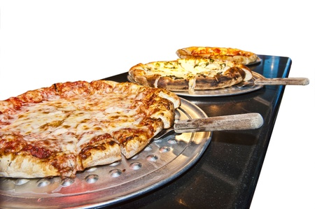 Pizzas Up Stock Photo - 14167012