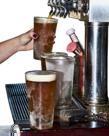 culinary tourism: Beer from Tap to Chilled Glass