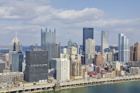 Pittsburgh Pennsylvania Downtown  Editorial