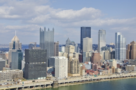 Pittsburgh Pennsylvania Downtown