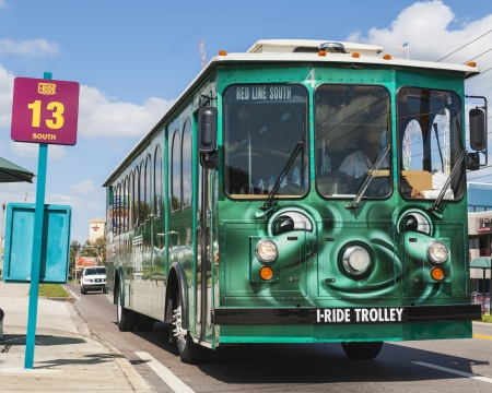 Trolley for Tourists in Orlando