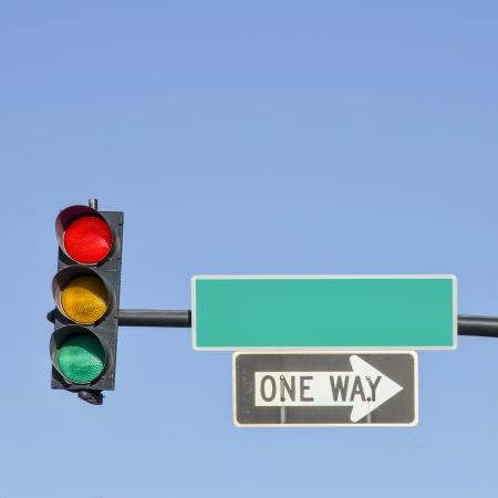 Panneaux de signalisation Street Light Banque d'images - 14576625