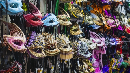 Mardi Gras Masks are Ready