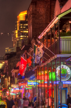 bourbon street: Bourbon Street Neon - New Orleans Energy