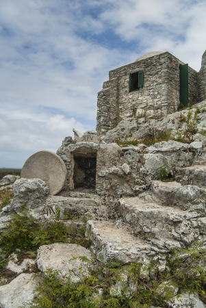 cat island: symbol of devotion the Hermitage on Mount Alvernia in Cat Island Bahamas  Stock Photo
