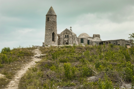 symbol of devotion  the Hermitage on Mount Alvernia in Cat Island Bahamas Standard-Bild