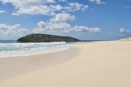 shoreline of Cat Island Bahamas Stock Photo - 14771271