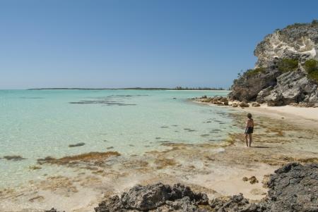 Frenchamans Bay at Cat Island Bahamas Stock Photo - 14780791