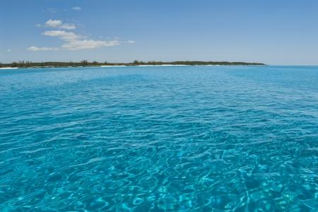 views from a boat at Cat Island Bahamas