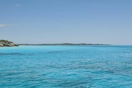 views from a boat at Cat Island Bahamas  Stock Photo - 14771318