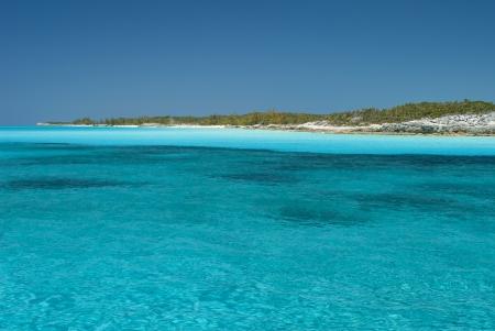 views from a boat at Cat Island Bahamas Stock Photo - 14771364