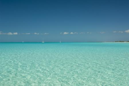 views from a boat at Cat Island Bahamas Stock Photo - 14771312