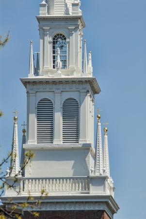 revere: Old North Church in Boston Massachusetts