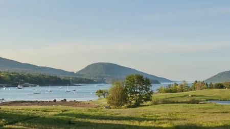 Somes Sound a fjord in Maine