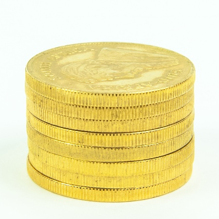 Gold Coins Standard-Bild - 15307743