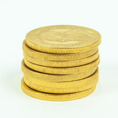 Gold Coins Standard-Bild - 15307745