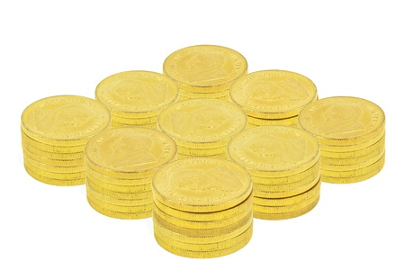 Gold Coins totaling  100,000 US photo