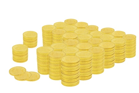 One Million Dollars in Gold Coins  photo