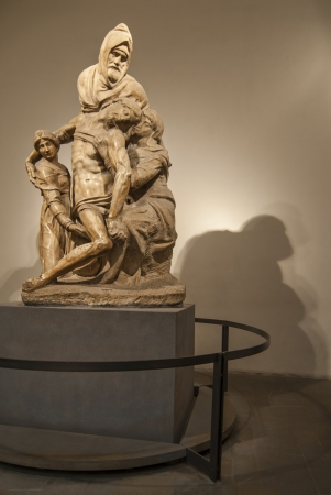 Pieta - Sculpture by Michelangelo
