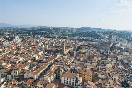View from top of Duomo in Florence
