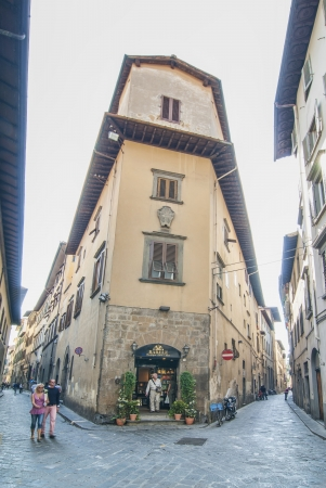 Narrow Streets of Florence Italy
