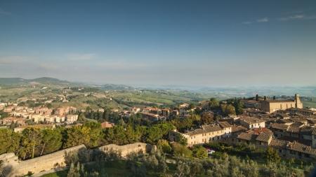 Toskana San Gimignano Standard-Bild