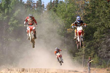 airborne riders 写真素材