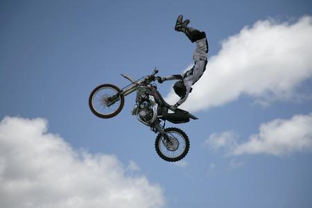 arial moto cross