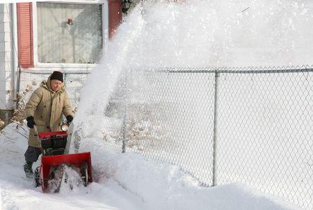 snowblower action