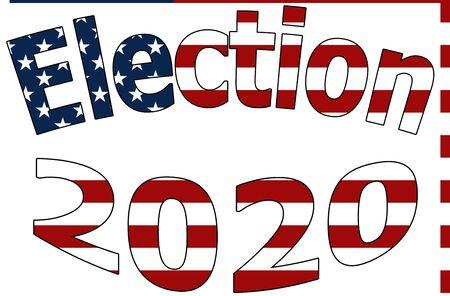 US Presidential Election 2020 Vote Democracy USA Politics Democractic Party Republican Party November 2020