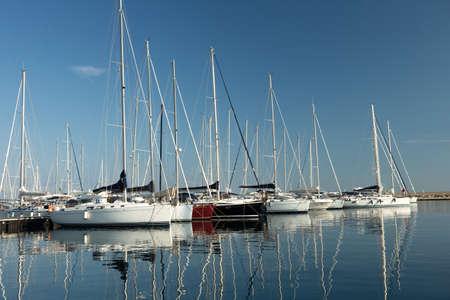 Yacht club 免版税图像