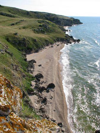 onbewoond: Onbewoond strand.
